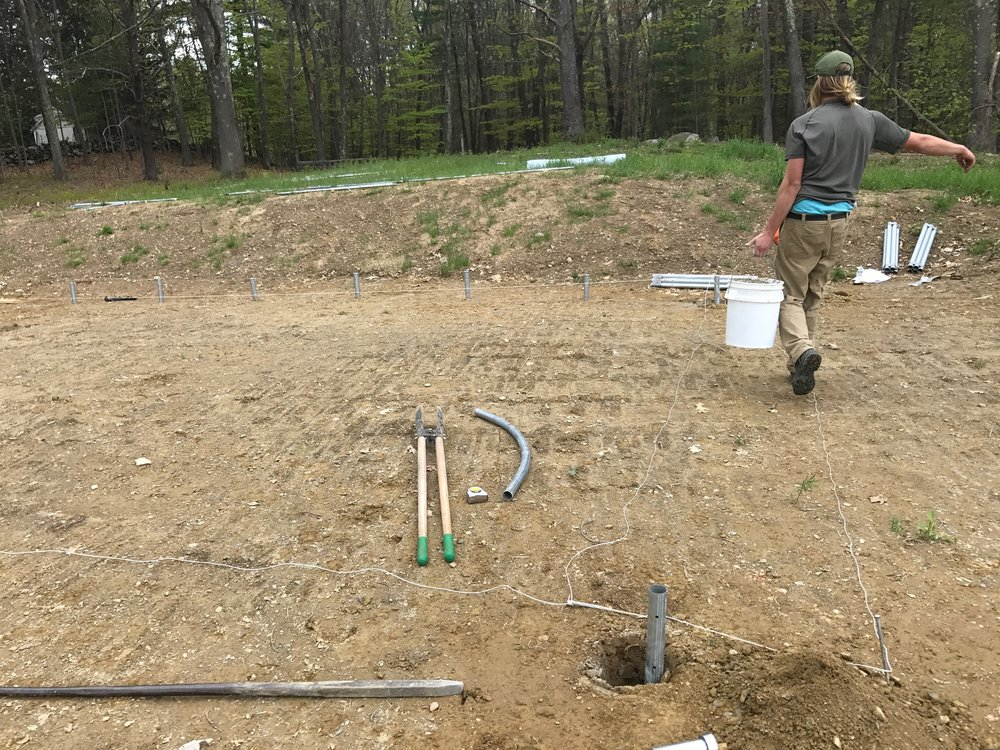 2017 Greenhouse Construction Begins