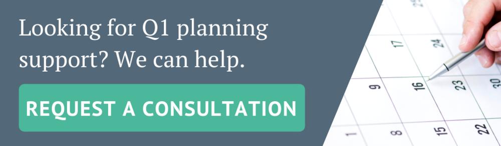 Q1 planning support