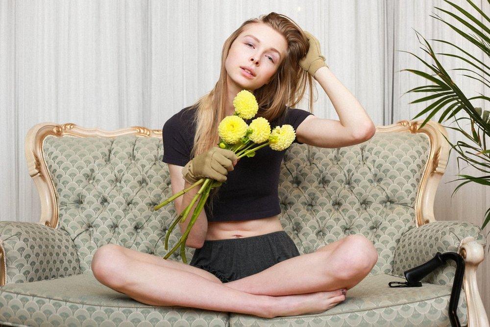 Photos by Helen Mak, featuring model Rachel Romu.