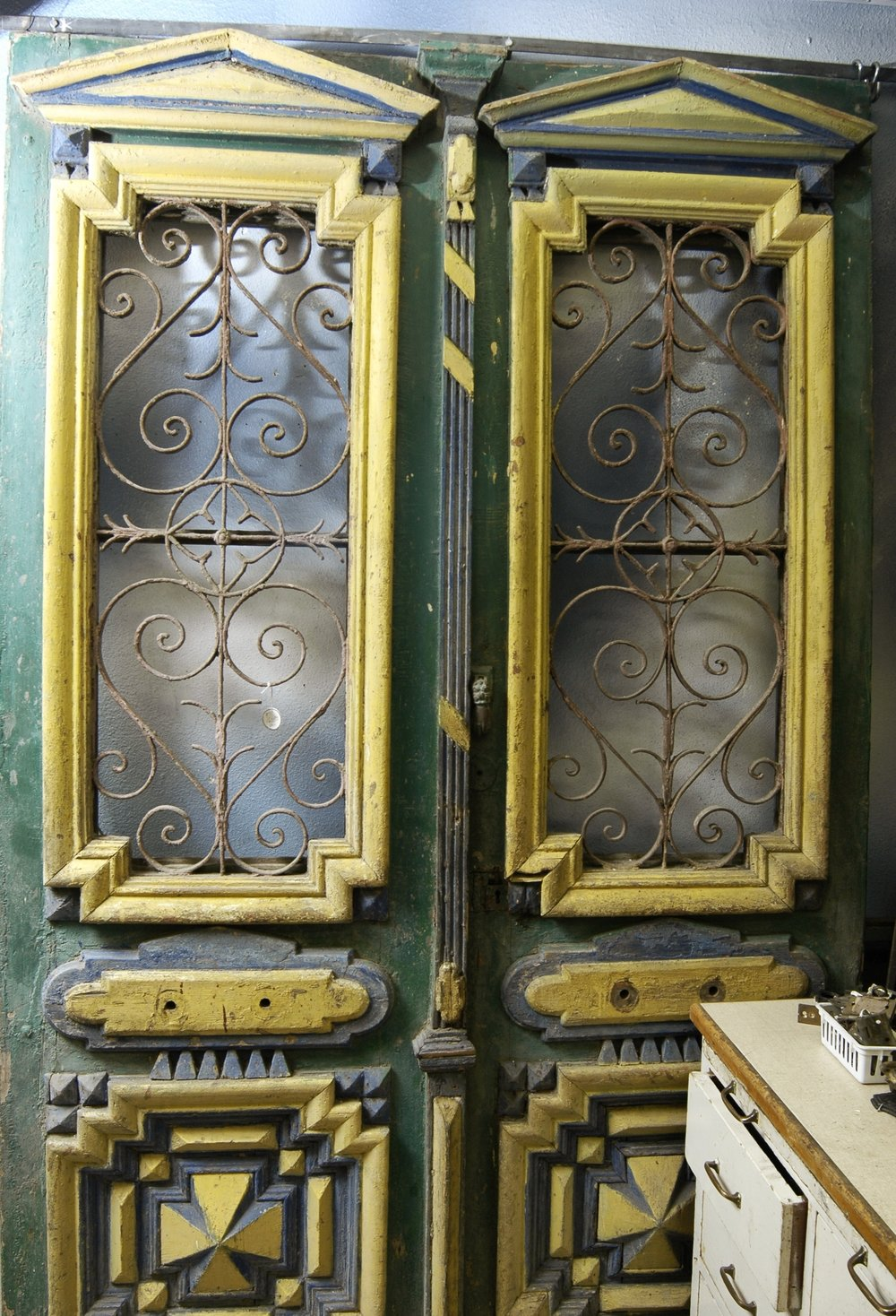 Doors - Big variety, hundreds of doors. Victorian, craftsman, rustic—lots of doors. Front doors, interior panel doors, french doors, odd styles & sizes, and grand & unusual.