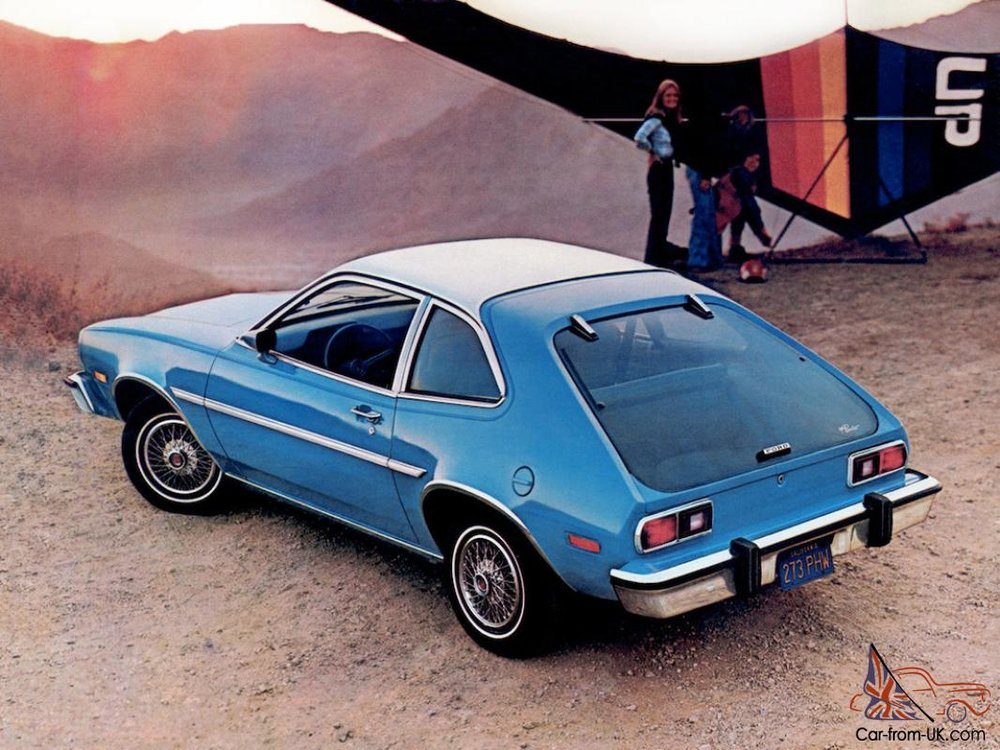 Which is sad because it was a good car until you hit it from the rear and it blew up. Then Ford tried to bury that information and sent out an internal memo that calculated how much a human life is worth and that equation did not add up to the cost of fixing the Pinto's problem.