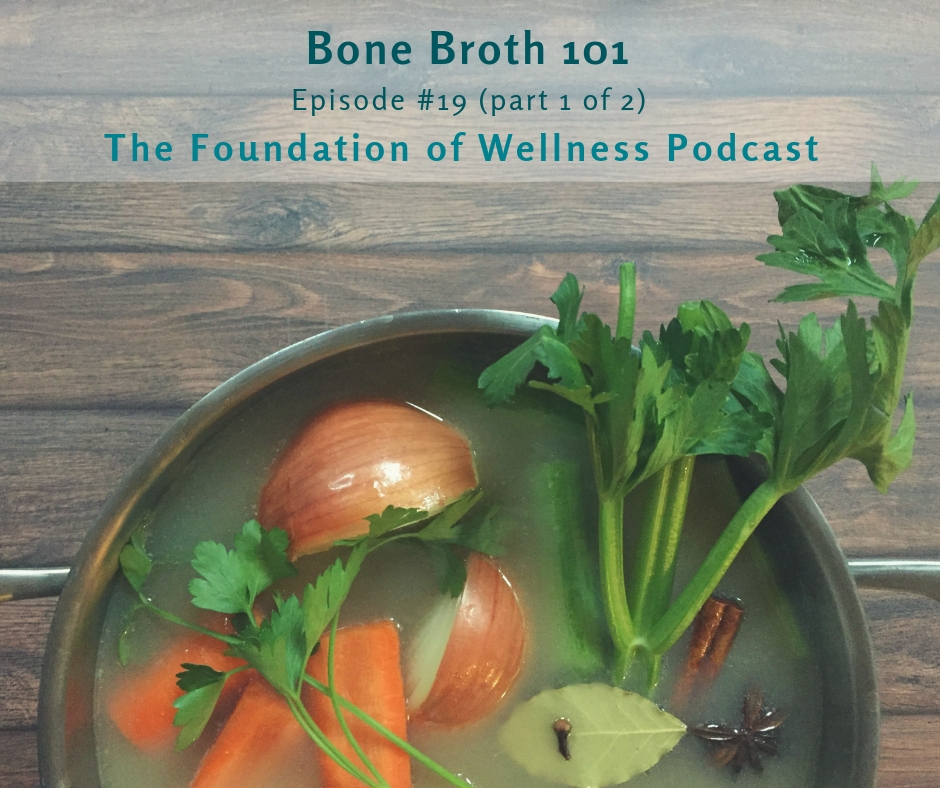 #19: Bone Broth 101: The History, Remedies, Myths & More (Part 1 of 2):This is episode 1 of 2 all about bone broth. Here we talk about the ancient tradition of bone broth, common misconceptions, and all of the amazing benefits of bone broth. The next episode is all about how to source bones and make it yourself. -