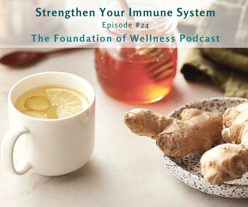 #24 Strengthen Your Immune System, Prevent the Cold & Flu, Natural Remedies: This episode is all about immunity. Here we teach you how to avoid the cold and flu. You'll learn what the immune system is and how to boost your immune system with food, supplements, an ancestral diet and self-care practices. You'll also learn how to cope with symptoms once they arrive as well as alcohol's detrimental effect on the immune system. -