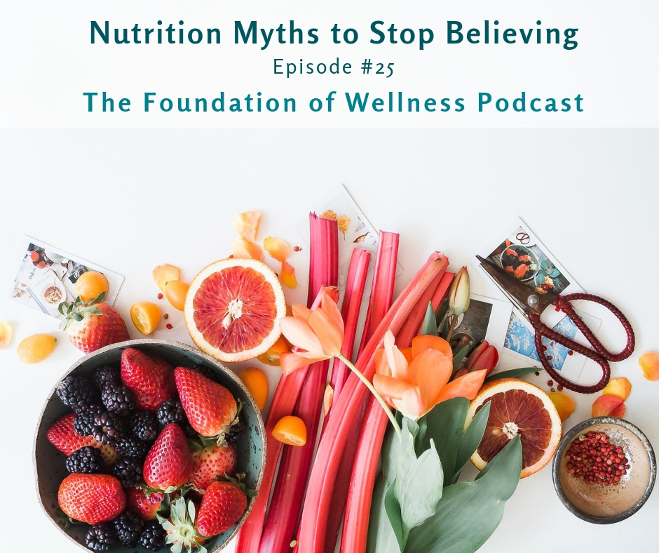 #25 Nutrition Myths to Stop Believing Now, Bonus Fitness & Weight-loss Myths: This episode is all about myth busting. Nutrition myths are everywhere. Mainly due to the fact that nutrition is a beyond complicated and fairly new science. -