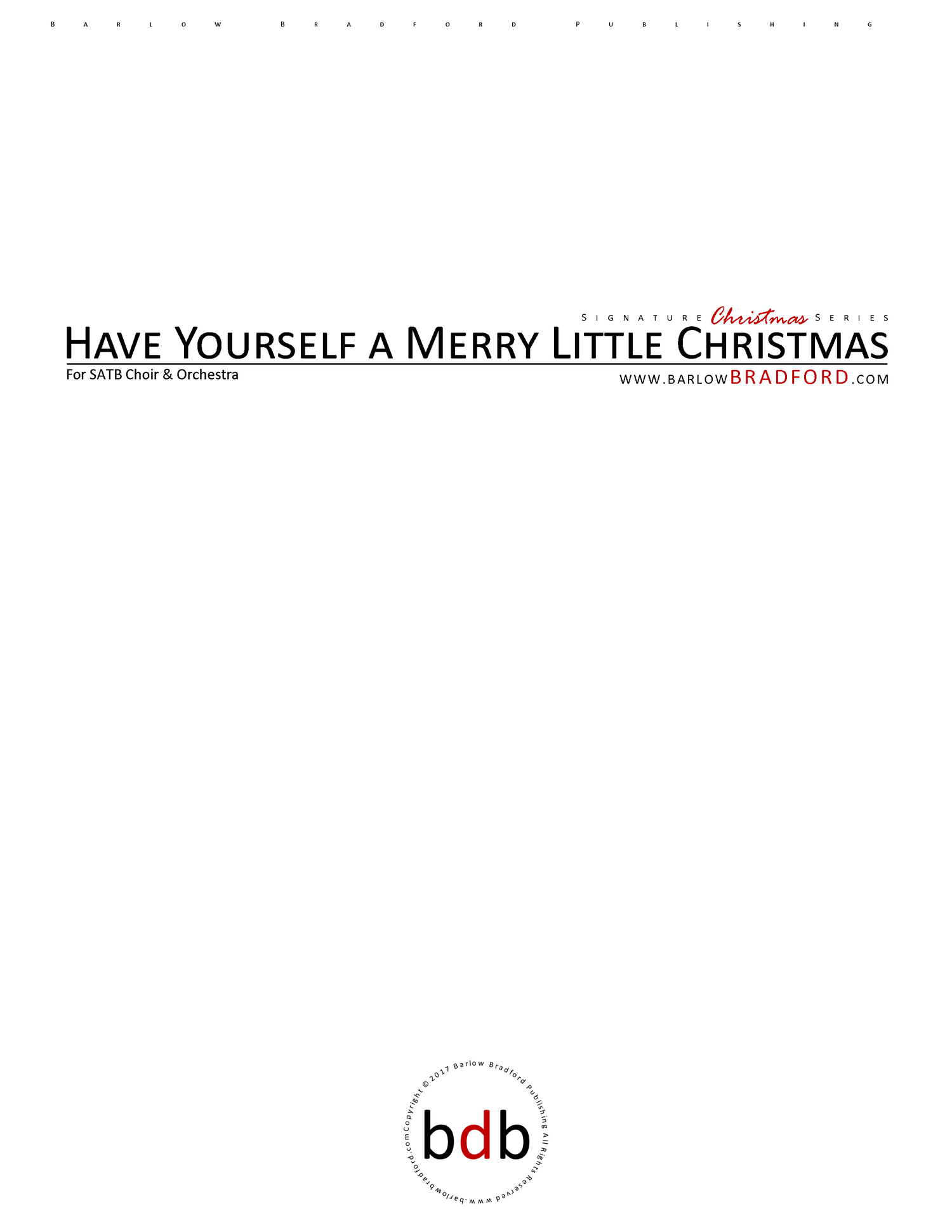 have yourself a merry little christmas cover letterpng - A Merry Little Christmas