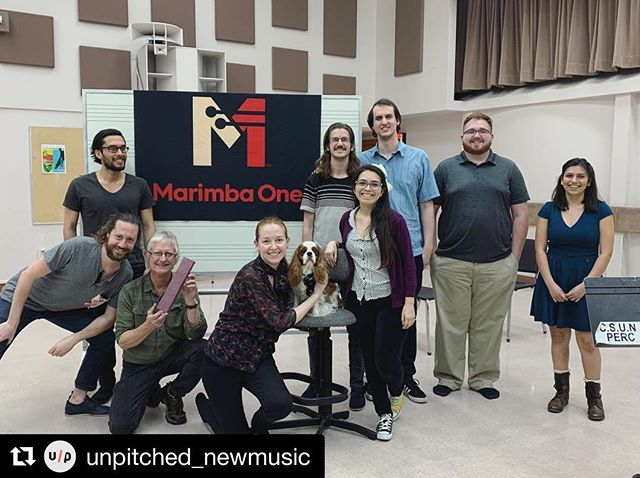 Another great Metamorphosis presentation at Cal State Northridge! It was so great to connect with friends, old and new. See you at the next one: 4/12 @ Redlands University 🤘 . . @marimbaoneofficial @dallasjhoward @lindsey_plays_percussion . . #percussion #vibraphone #marimbaone #marimba #newmusic #contemporarymusic #csun #composer #composers #composersofinstagram #percussionist