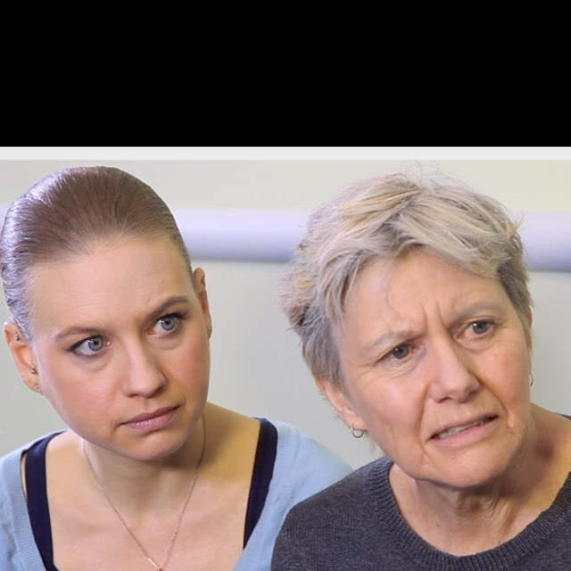 Mother & daughter receiving news from the Dr. about the fate of their father & husband at the Palliative Care Unit @theMichnerCenter @ladytrycian @moxie_productions #spfxartist #spfxmakeup #makeupartist #aging #agingmakeup #bennye #bennyenakeup #greyhair #thefacestation #malabar #palliativecare #actors #standardizedpatient