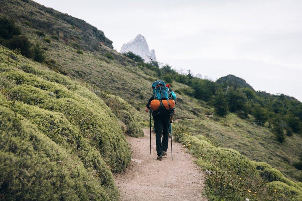 Fjelltur i Patagonia