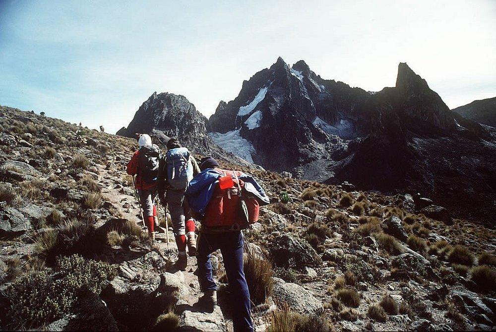 Klatre Mt Kenya
