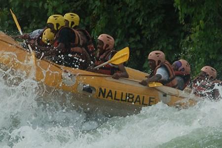 Rafting i Nilen