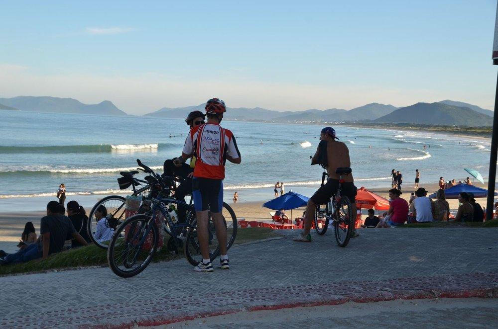 Sykle på Santa Catarina