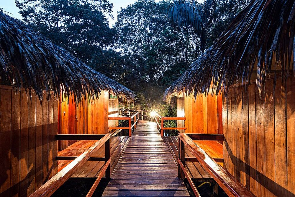 Overnatt i Amazonas