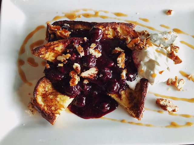 Have you tried our French toast? No? It's okay because we'll be serving at brunch today and tomorrow.  Tag your brunch buddy!