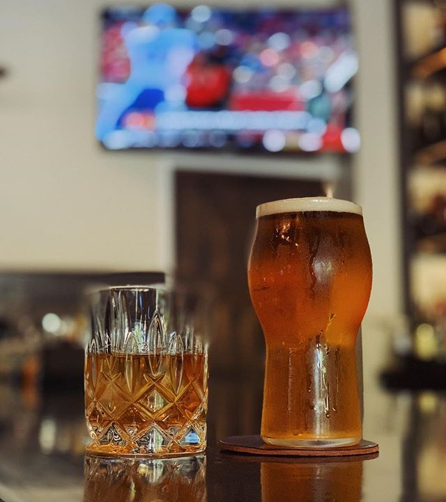 #ThursdayNightFootball is on at The Whiskey Project 🏈 We have our happy hour specials going on all night and the game at 8PM, so who's in?