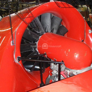 12-blade wing fan with tightest possible tolerance between the fan blade and intake bell wall