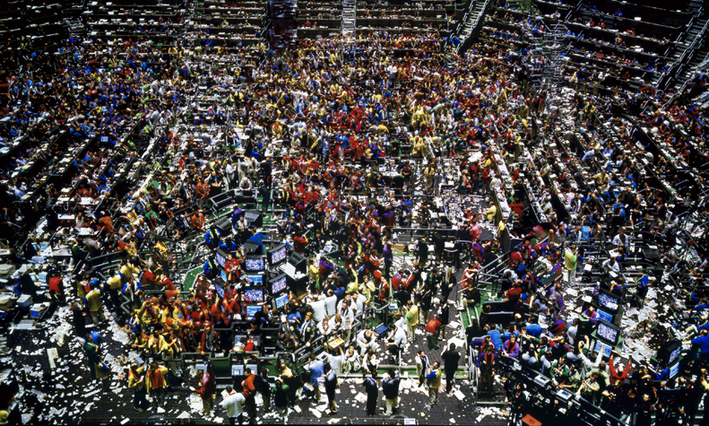 Andreas Gursky  Chicago Board of Trade II  (1999)