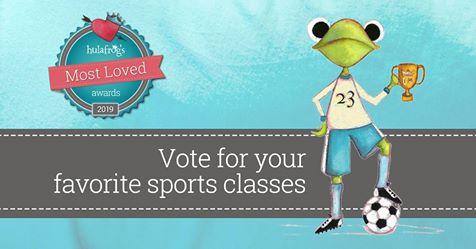 "Vote for us in Hulafrog's Most Loved Awards! - Cast your vote for PedalPower Kids in Hulafrog's ""Most Loved Sports Program"" category!*Image Credit: Hulafrog"