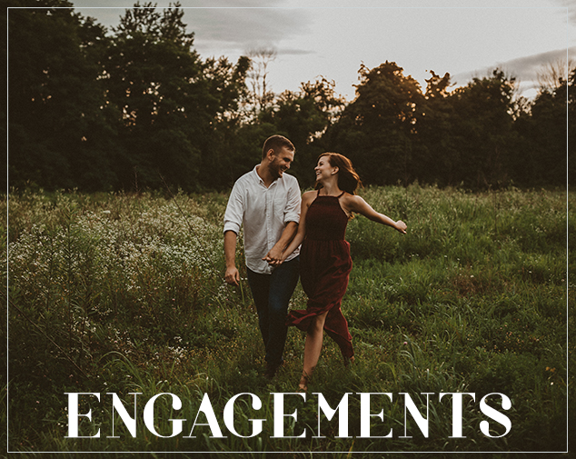 oh deer photography // engagement gallery // ohio