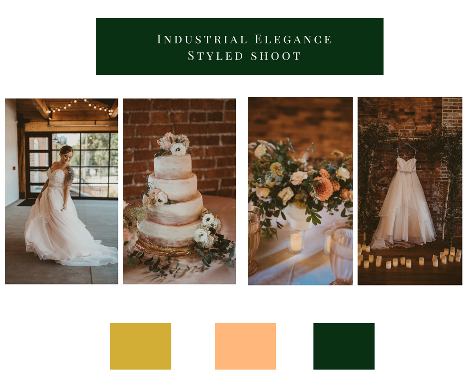 industrial elegance // oh deer photography // Ohio wedding photographer