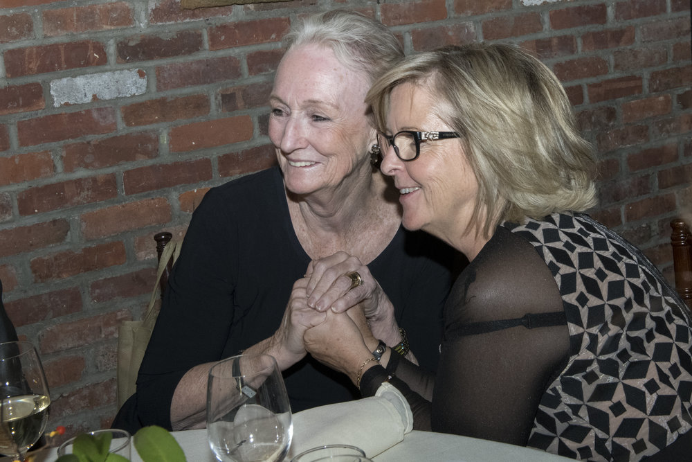 Kathleen Chalfant and Joelle Tanguy