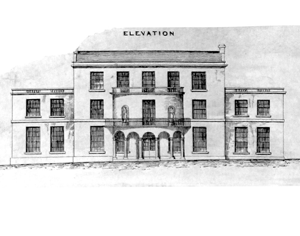 Original 1792 elevation