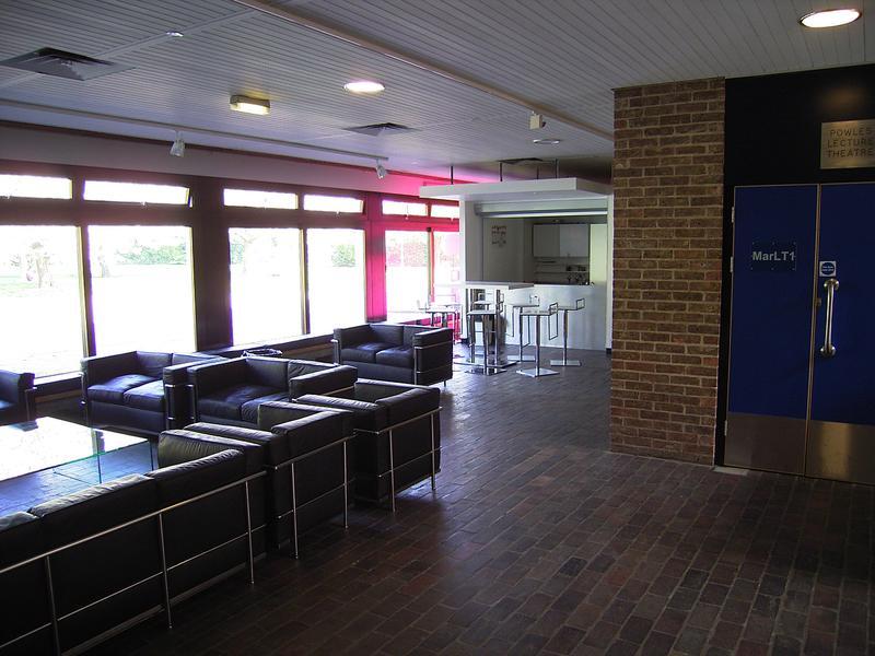 Marlowe Foyer Kent School of Architecture — del Renzio & del Renzio