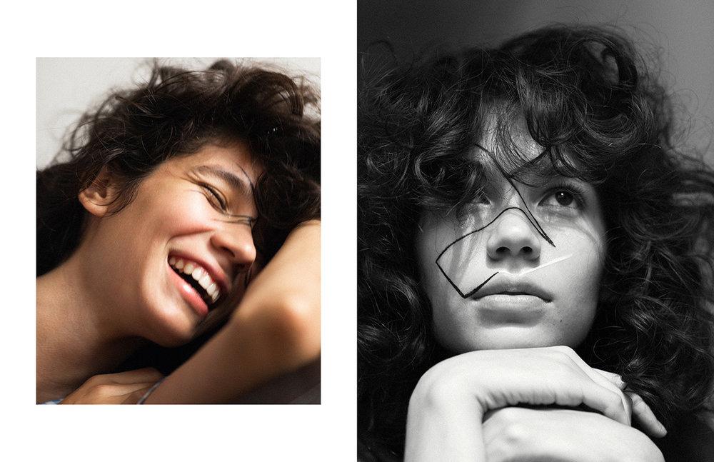 Photography / Keiichiro Nakajima Make up / Toru Sakanishi @Joe Management Hair / Kiyonori Sudo Model / Ines Lopez @Muse Management