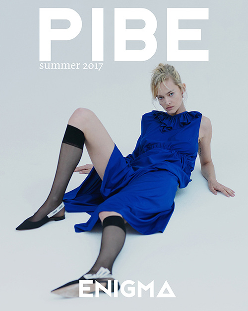 ON THE COVER Photography / Conny Kirste Model / Nadine Strittmatter    BUY PIBE SUMMER2017 PRINT ISSUE 3: £5.00     ON SALE    BUY PIBE SUMMER2017 DIGITAL ISSUE 3: £4.50