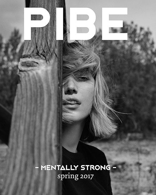 ON THE COVER Photography / Matthew Sprout Model / Lou Schoof    BUY PIBE SPRING2017 PRINT ISSUE 2: £5.00     ON SALE    BUY PIBE SPRING2017 DIGITAL ISSUE 2: £4.50