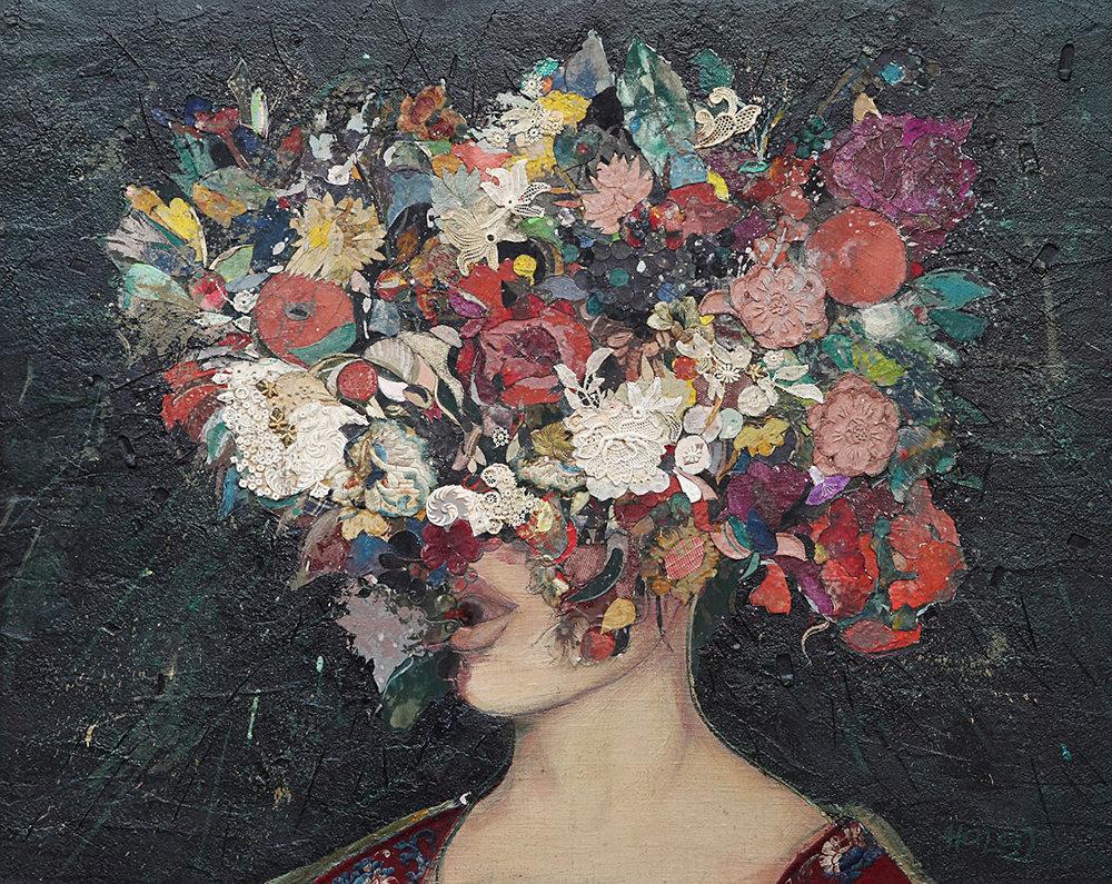 Minas Halaj -Floral Face #1