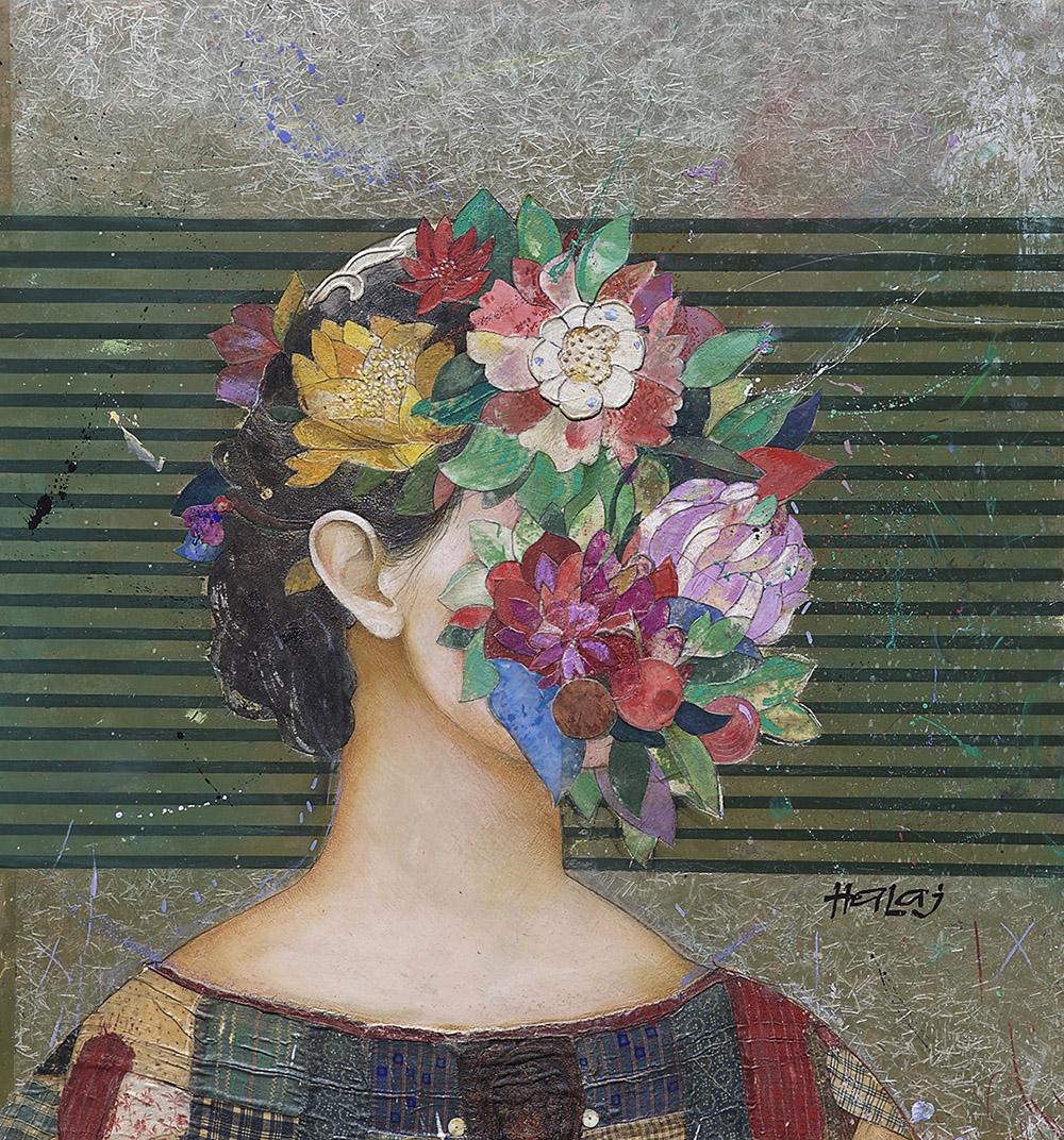 Minas Halaj -Floral Face #6