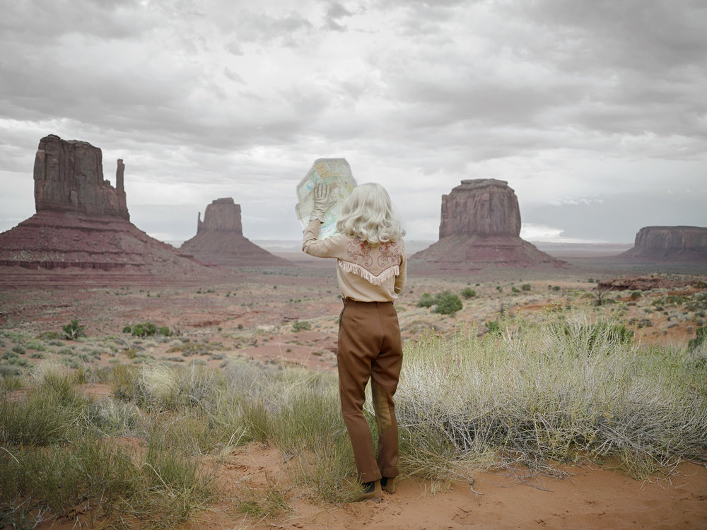 The Fictional Road Trip © Anja Niemi - The Little Black Gallery