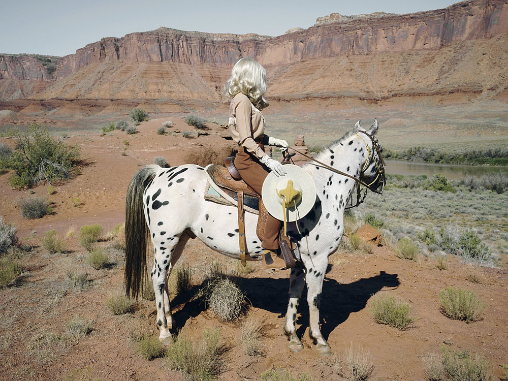 The Imaginary Cowboy © Anja Niemi - The Little Black Gallery
