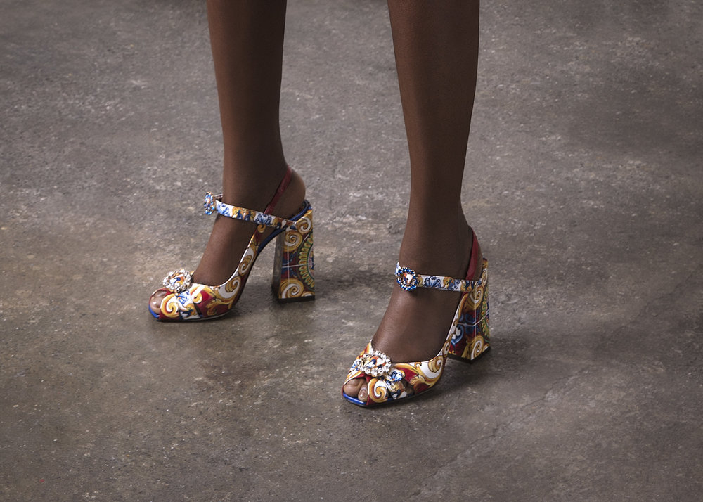 Shoes: Dolce & Gabbana @PIBE