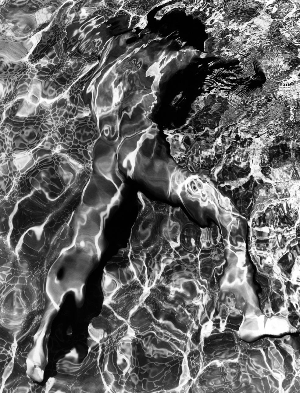 Swimming Pool Study © Greg Gorman