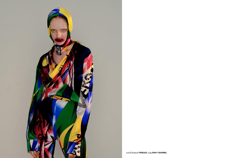 Photography / Emiri Emin Styling / Brit Cato Make up / Dina Drevenak Hair / Yu Nakata Model / Sasha Sergeeva @Muse Photography Assistant / Eric Duanmu Styling Assistant / Greta Carmella