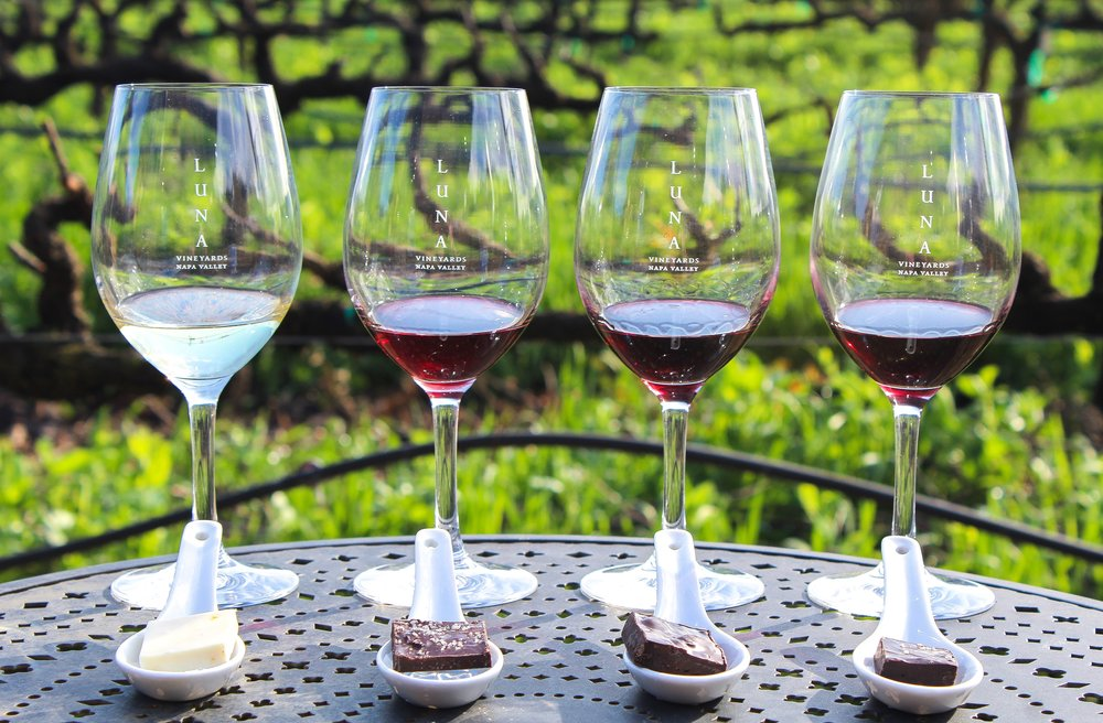 Luna Vineyards Valentine's Surprise Wine and Chocolate Pairing
