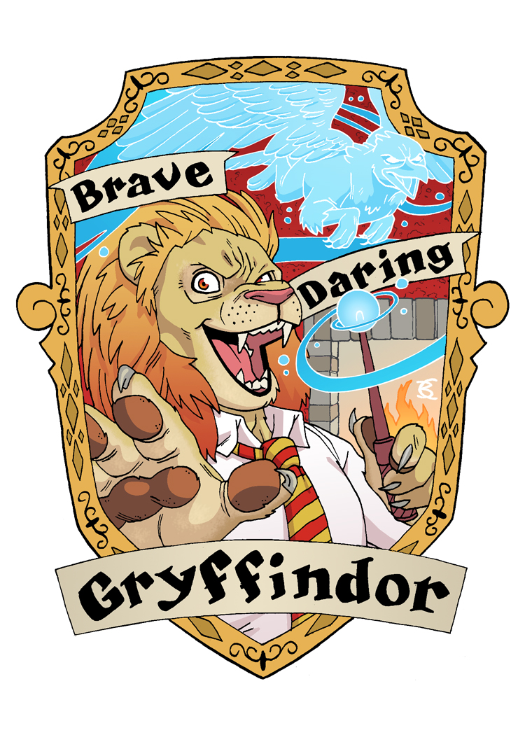 Gryffindor Lion for the Muggles Market