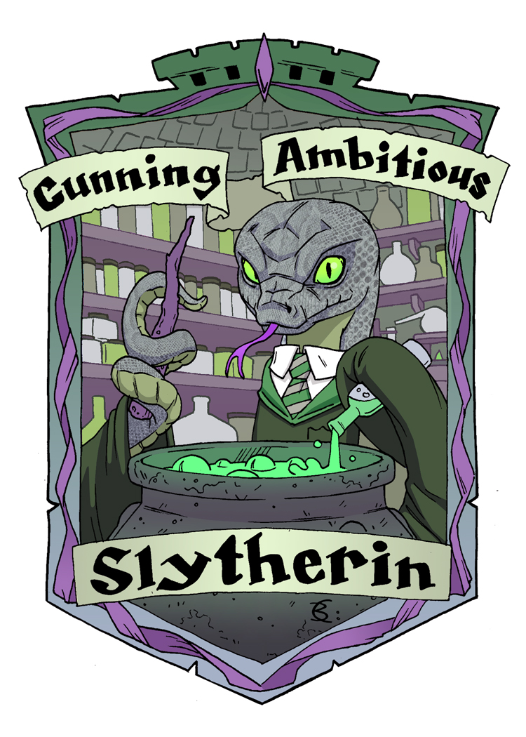 Slytherin Snake for the Muggles Market