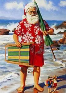 Kiwi Santa