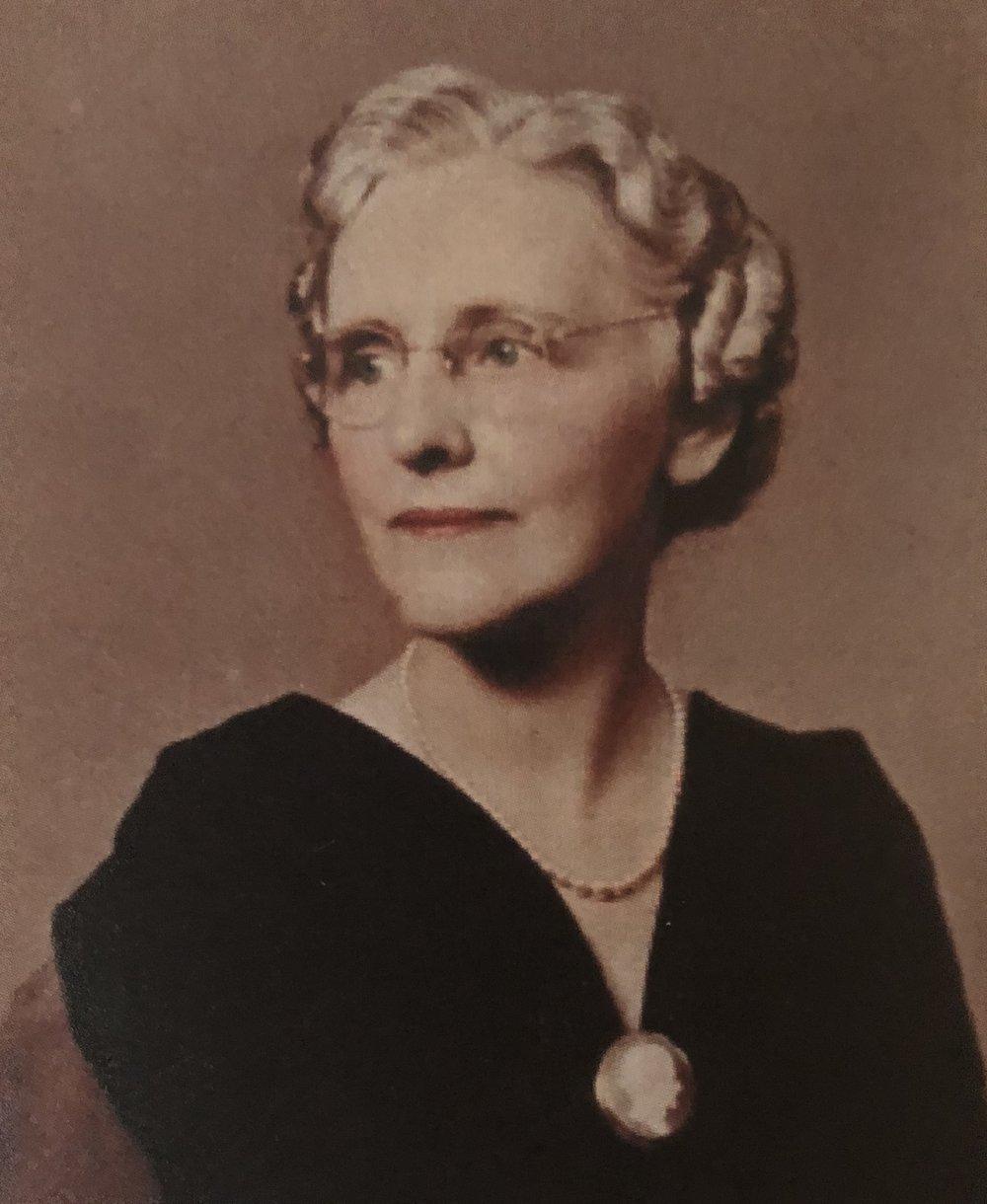 My maternal grandmother, Mother Little.