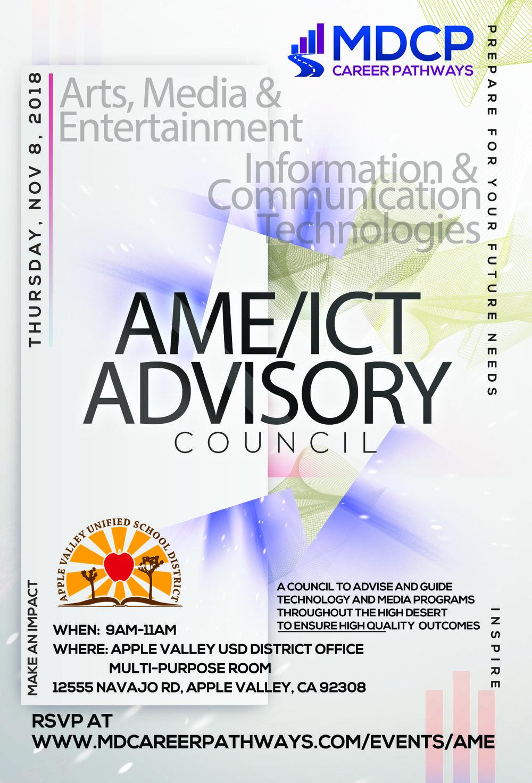 AME ICT Flyer