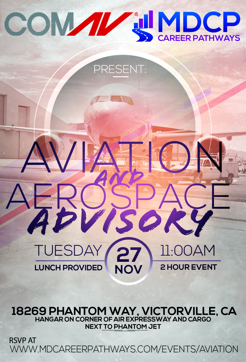 Aviation Aerospace Advisory flyer