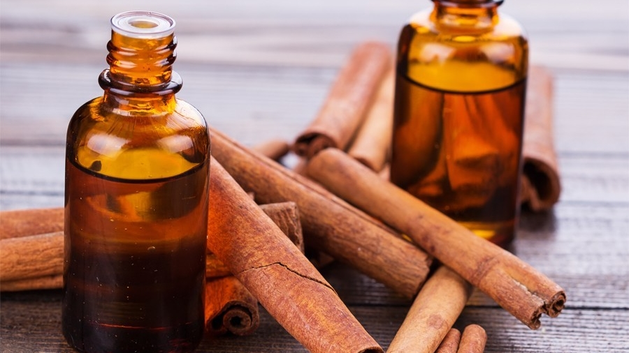 Cinnamon Oil - Destroys odor-causing bacteria.