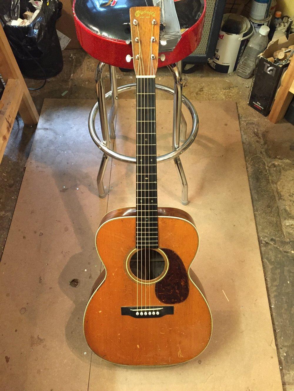 1937 Martin 000-28 ( neck reset )
