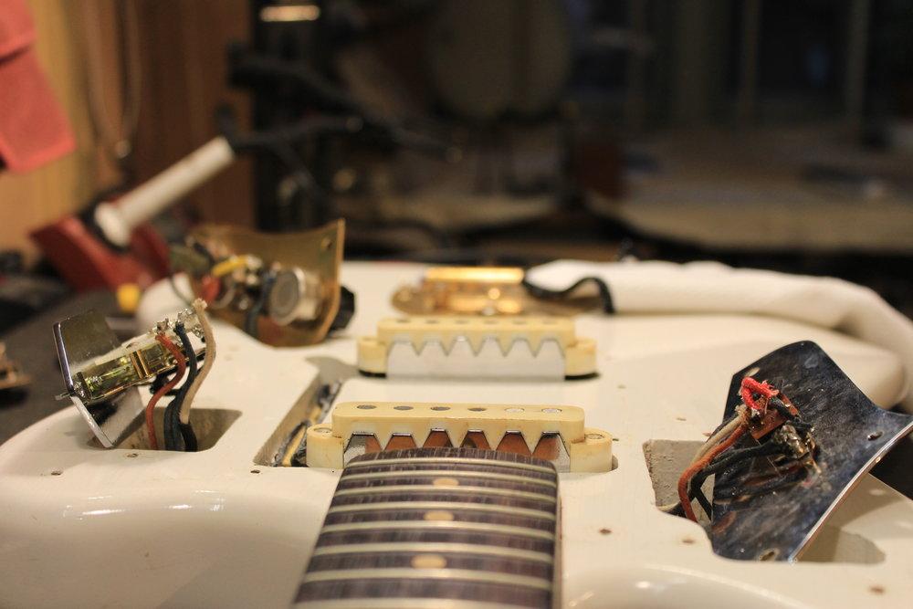 1964 Fender Jaguar wiring mod