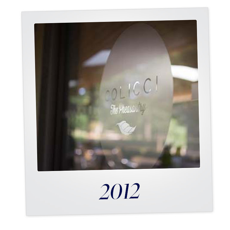Time for a face lift... - With the next generation of family members in full swing the business undergoes a full rebrand to Colicci, winning 2 major café contracts in the process.