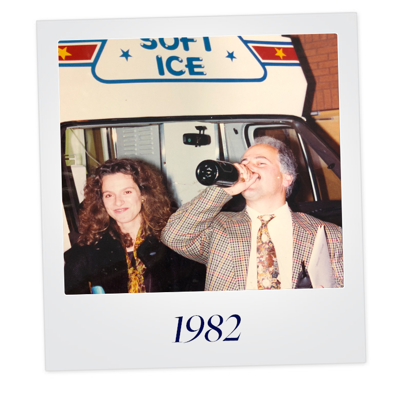 Where it all began... - The business began in 1982, with one ice cream van operated by Ernie & Josephine Colicci. Their mission was simple….to sell ice cream and make people happy.