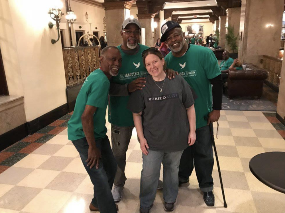 The Exonerees from the Georgia Innocence Project were able to attend the Innocence Conference thanks to our listeners!