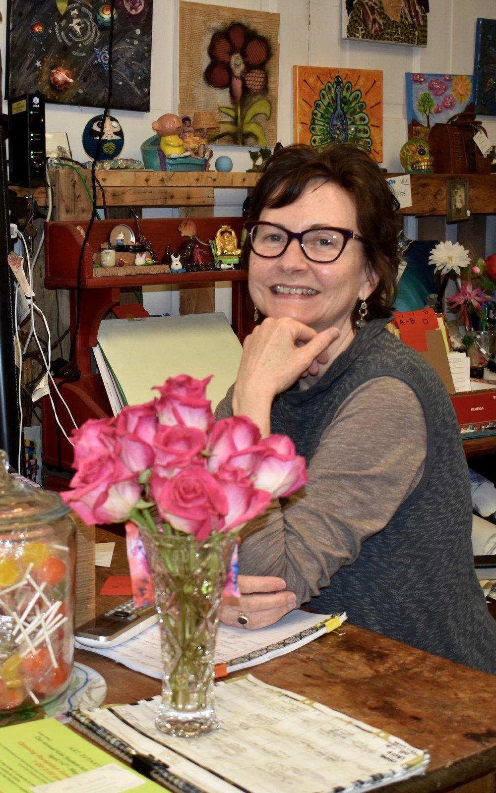 Jaye Weiner, Proprietor and Art Instructor